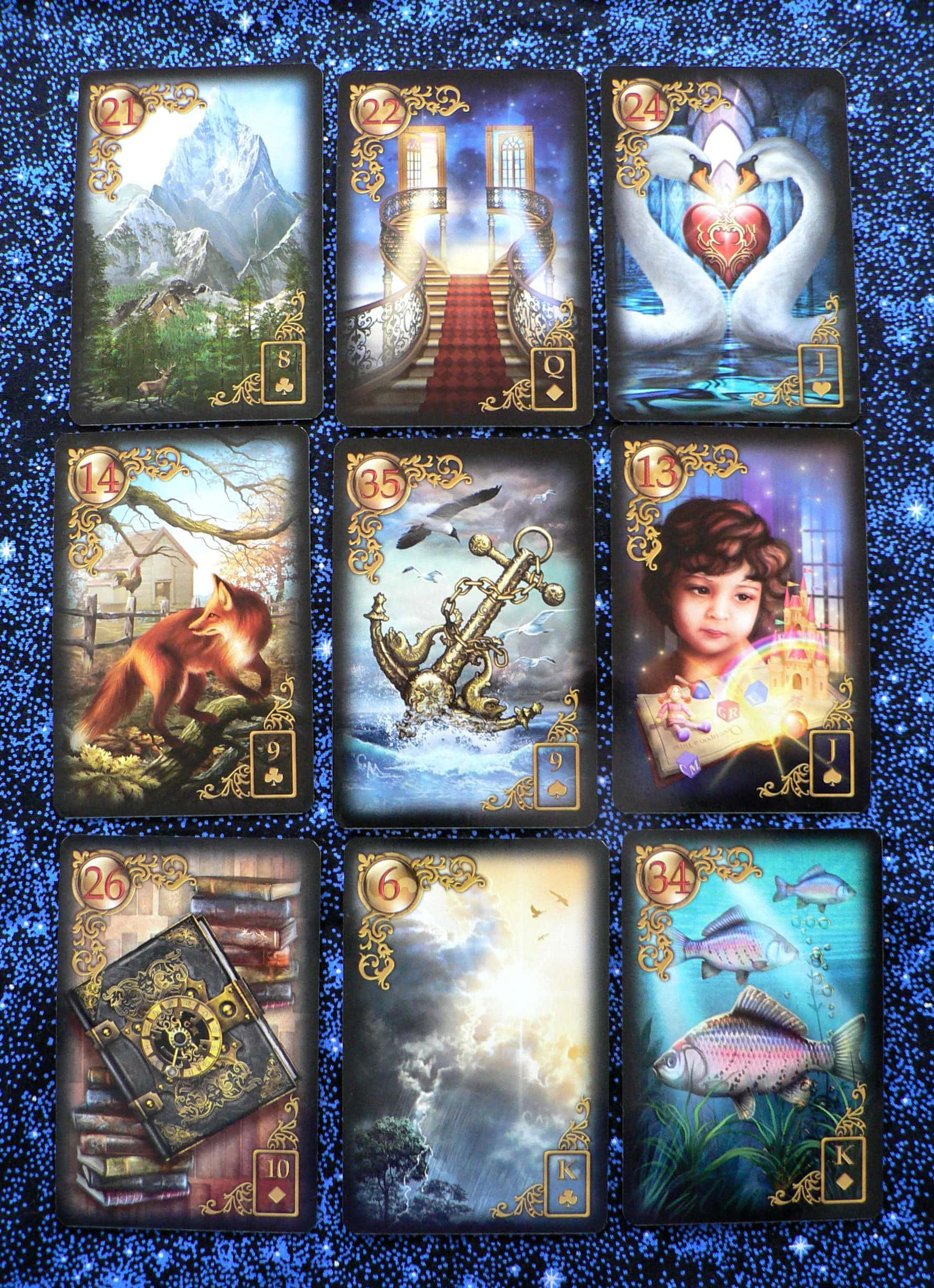Laura S New Love Lenormand 171 First Church Of Metaphor